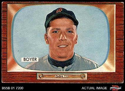 Amazoncom 1955 Bowman 149 Cloyd Boyer Kansas City Athletics