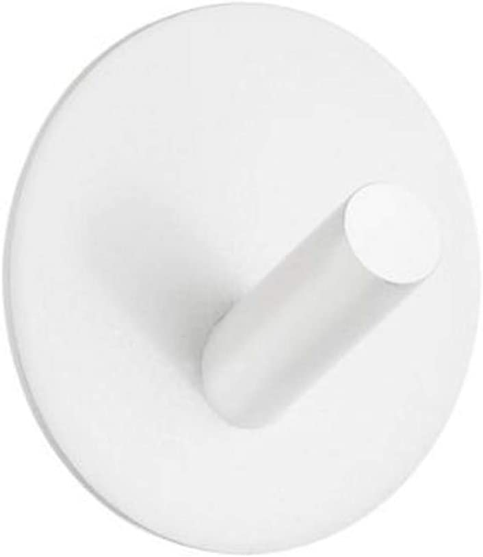 Beslagsboden Single Wall Mounted Hook Finish White Matte Stainless Steel Home Kitchen
