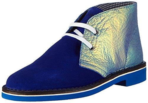 Pollini Sca.nod.micro20bi/bl Cro+ir - botas de caña baja con forro cálido y botines Mujer Multicolor