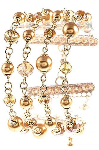 mixed bead bra - 2