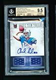 Andrew Luck Signed Jersey - Bgs 9 5 2012 Panini Momentum Rc Team Threads 25 *pop 2* - Panini Certified