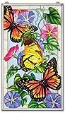 Stained Glass 13'' X 23'' Suncatcher Lightness Butterfly Window Panel
