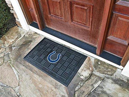 Indianapolis Colts Door Mat (Fan Mats NFL Indianapolis Colts Medallion Door Mat 18