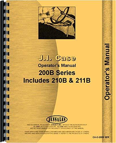 Read Online Case 210B Tractor Operators Manual pdf epub