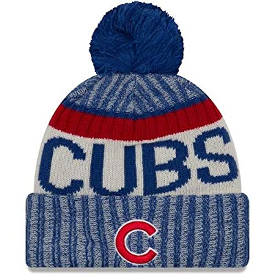New Era Chicago Cubs Sport Knit NE17 Youth Winter Hat