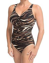 Magicsuit by Miraclesuit Women's Tigress Yasmin One Piece Swimsuit (10 US)