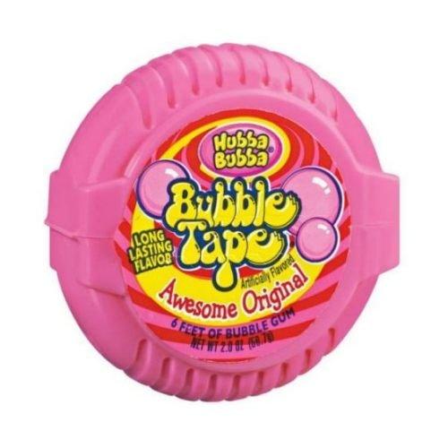 (Wrigley Original Hubba Bubba Bubble Gum Tape -- 144 per case.)