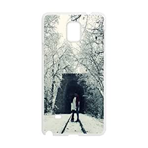 Armenia Yerevan Railway Park 4 Samsung Galaxy Note 4 Cases, [White]