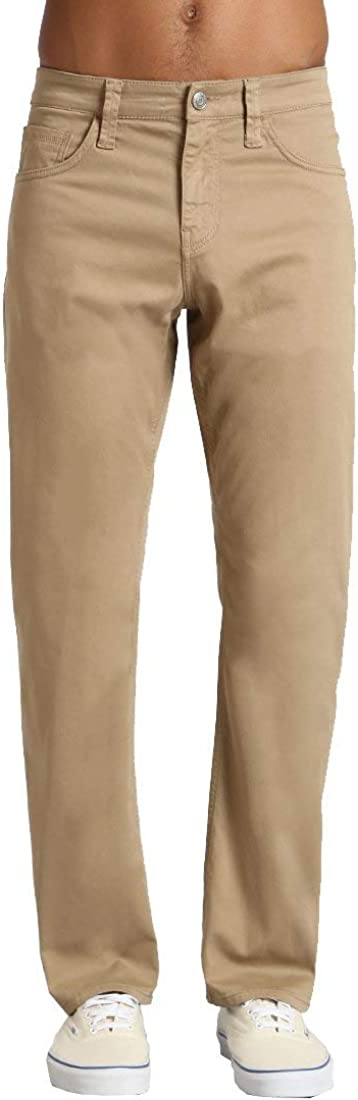 Mavi Men's Matt Classic Mid-Rise Relaxed Straight-Leg Pants: Clothing