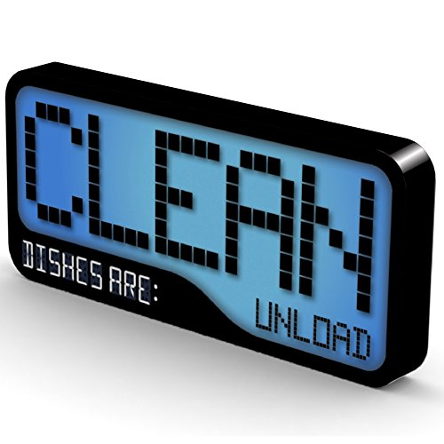 Reversible Double Sided Clean Dirty Dishwasher Magnet - Supe