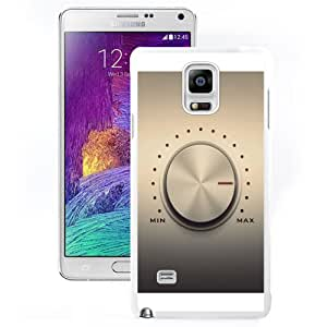 Durable Phone Case Volume Knob Galaxy Note 4 Wallpaper in White