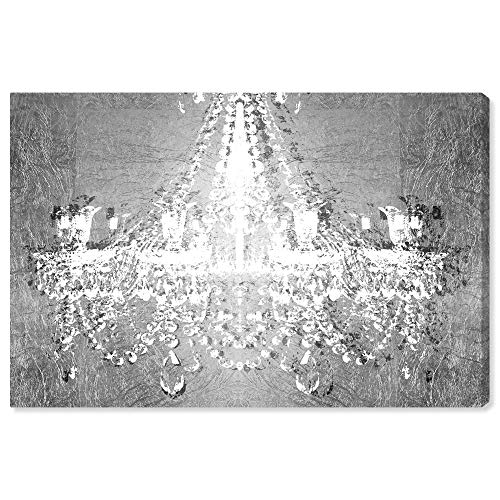 The Oliver Gal Artist Co. Fashion and Glam Wall Art Canvas Prints 'Dramatic Entrance Chrome' Home Décor, 36