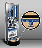NBA Memphis Grizzlies My First Game Ticket Display Stand, One Size, Multicolored