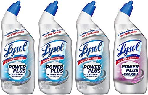 Toilet Cleaner: Lysol Power Plus