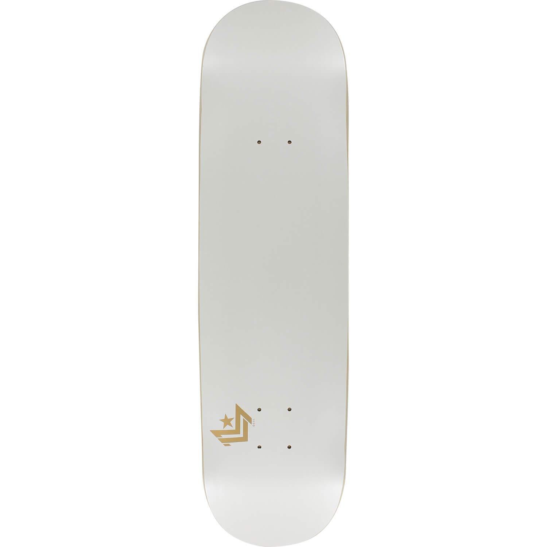 Mini Logo Chevronパールホワイトスケートボードデッキ248 – –