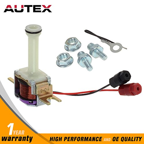 AUTEX 4L60E 4L60 2004R 700R4 Transmission TCC Lock Up Solenoid 200 R4 4R TH700-R4 Compatible With GM 82-UP
