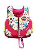 X Shop Neoprene Life Jacket Child Swim Vest [Pink]
