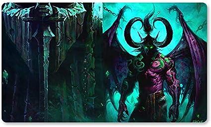 Warcraft8 – Juego de mesa de Warcraft tapete de mesa Wow juegos teclado Pad Tamaño 60 x 35 cm World of Warcraft Mousepad para Yugioh Pokemon MTG o TCG: Amazon.es: Oficina y papelería