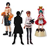 Bandai Shokugan Super One Piece Styling Flame of the Revolution