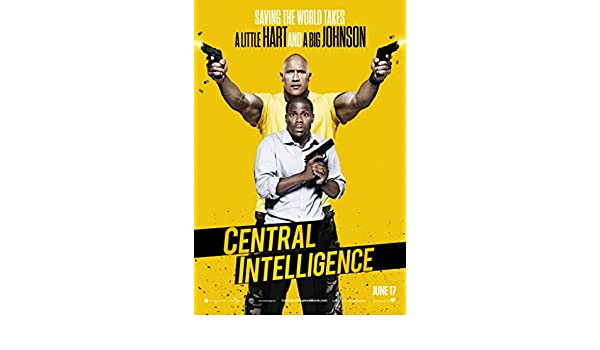 The Rock Poster Central Intelligence Movie 2016 Hart CHOOSE YOUR SIZE FREE P+P
