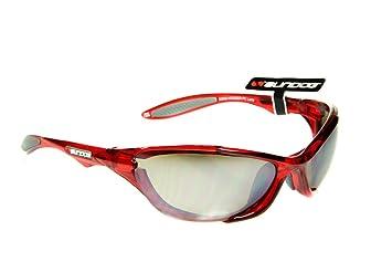 d086d26a00e Sundog Hugger - Professional Quality Sport Sunglasses with TR90 Red Frame