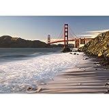 "5x7 San Francisco Photo - ""Golden Gate Bridge Sunset Long Exposure"" by TravLin Photography"
