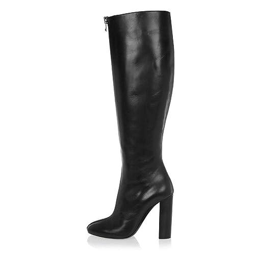 Elegant high shoes Zapatos de Mujer de Piel Sintética