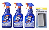 Spot Shot 32 oz. Professional Instant Carpet Stain Remover (Pack of 3) + FREE Microfiber Cleaning Cloth