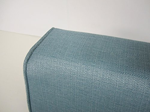 Wedge Bolster with Cover (Linen Turquoise)