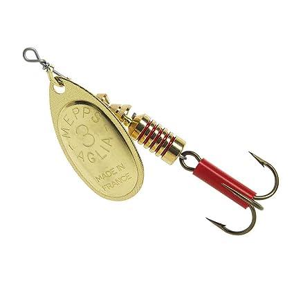 Copper Mepps Aglia Plain Treble Fishing Lure 1//12-Ounce