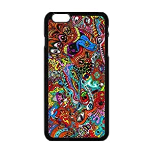 """Danny Store Hardshell Cell Phone Cover Case for New iPhone 6 Plus (5.5""""), Trippy"""