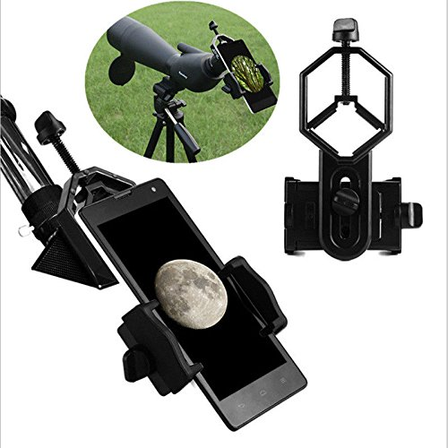 FidgetFidget Mount Holder Pro Spotting Scope Mount Holder Cell Phone Camera Adapter ~ by FidgetFidget