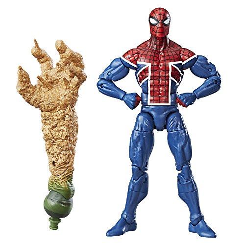 Spiderman Costumes Uk (Marvel Spider-Man 6-inch Legends Series Multiverse Spider-Men: Spider-UK)