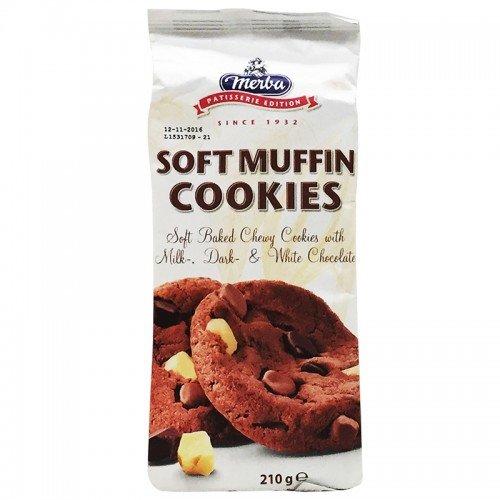 Merba, Soft Muffin Cookies, net weight 210 g (Pack of 1 piece)