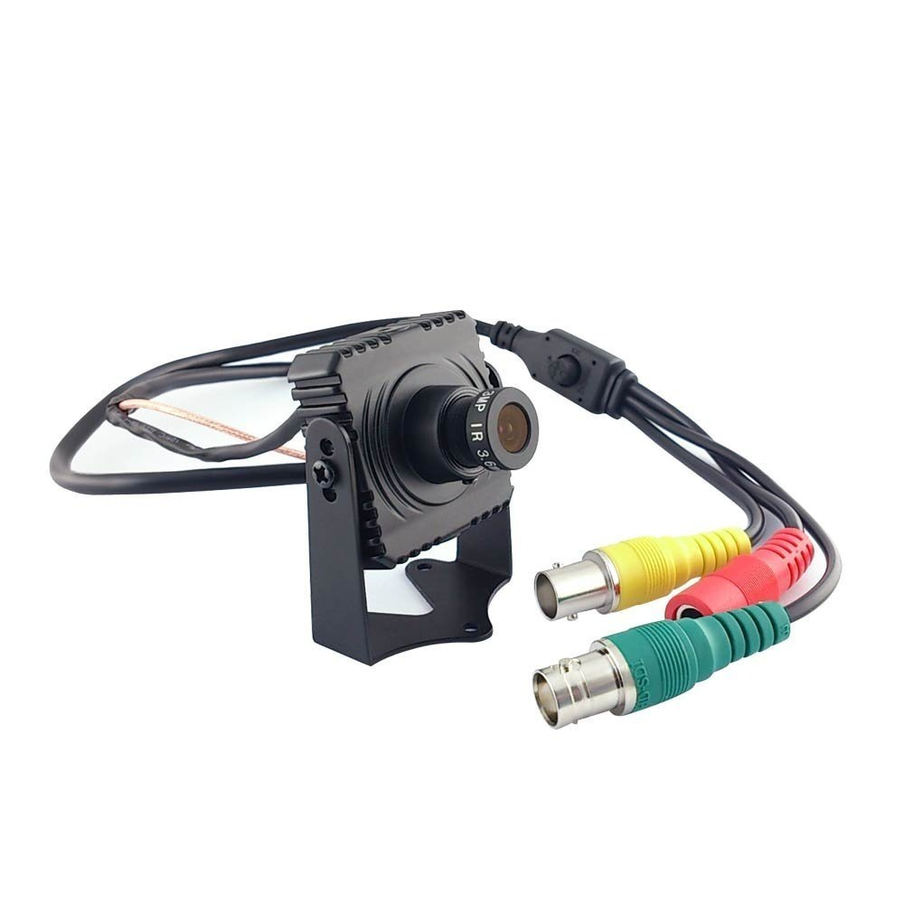 V-See Indoor Mini 1080P 2.1MP 1920x1080P Color HD-SDI Camera CCTV Security WDR Camera with OSD Menu Black Color