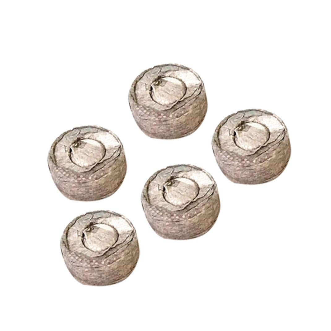 AmaSells Pellets Seed Starting Plugs Pallet Seedling Soil Block Easy to Operate,Pellets 30mm diameter,Nursery nutrition (Coffee A 5pcs)