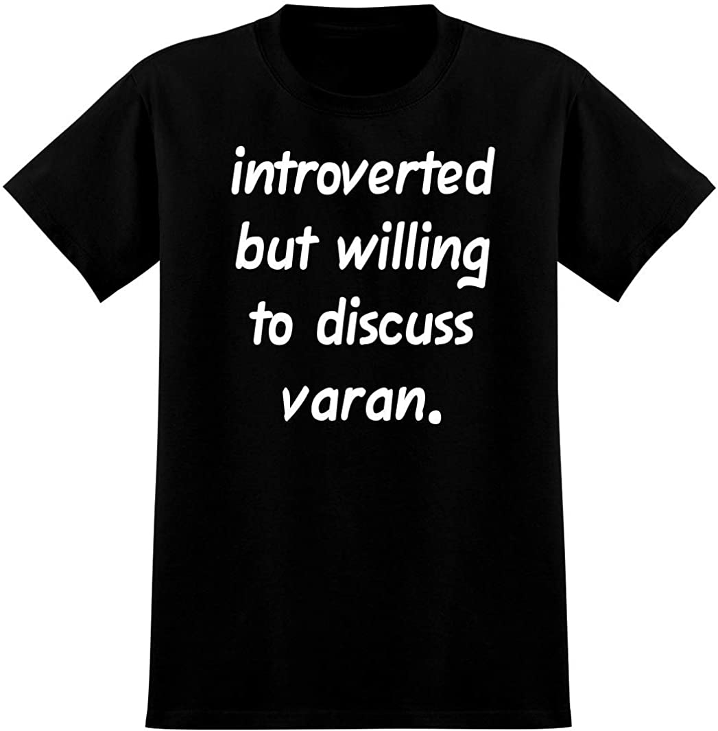 Introverted But Willing to Discuss varan - Soft Men's T-Shirt