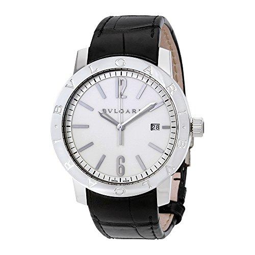 Bvlgari Bvlgari Automatic Off White Dial Mens Watch 102056