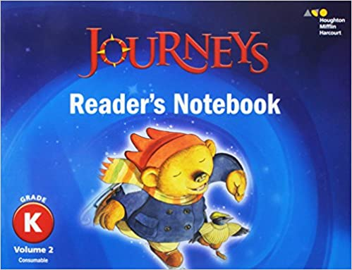 Journeys readers notebook volume 2 grade k houghton mifflin journeys readers notebook volume 2 grade k 1st edition by houghton mifflin harcourt fandeluxe Image collections