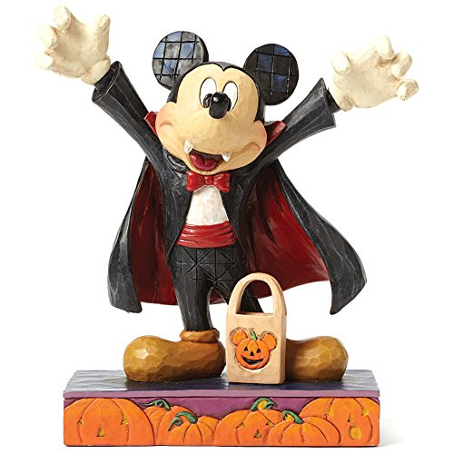 Collectible Halloween Disney Tradition Jim Shore Mickey Mouse Vampire -