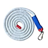 Aoneky Gym Climbing Ropes (White, 10 ft)