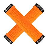 Lizard Skins Peaty Lock-On Cheers Grip Tangerine, S