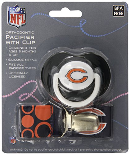 Baby Fanatic Pacifier Chicago Bears