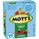 Mott's Medley Assorted Fruit Flavored Snacks (90 ct.) (Pack of 3)