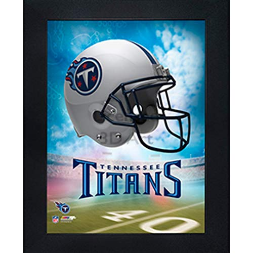 (Tennessee Titans 3D Poster Wall Art Decor Framed Print | 14.5x18.5 | Lenticular Posters & Pictures | Memorabilia Gifts for Guys & Girls Bedroom | NFL Football Team Sports Fan Pictures for Man Cave)