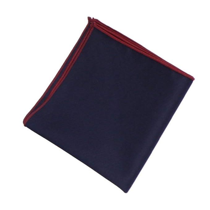 Battercake Pañuelos Pocket Square Trajes De Hombre Pañuelo De Cómodo Negocios Pecho Toalla Gris Azul Negro