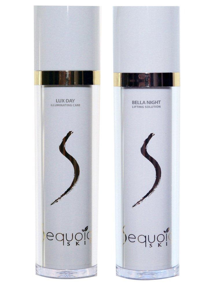 Sequoia Skin Lux Day & Bella Night - Tages- und Nachtcreme mit Sequoia Extrakt im Set (2 x 50 ml) Ahalani GmbH