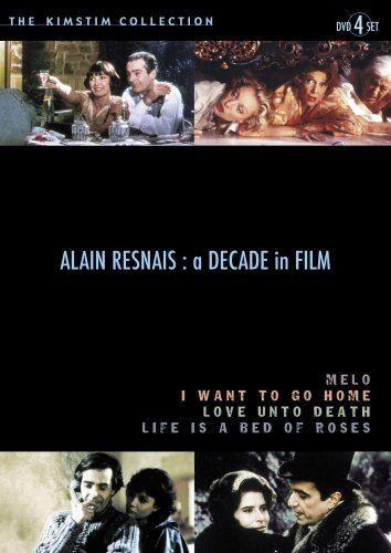 Alain Resnais: A Decade in Film (Life is a Bed of Roses / Love Unto Death / Melo / I Want to Go Home) (1983-1989) (4pc) by Kino International