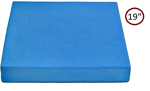 Yogu Balance Foam Pads – Choice: Large, XL and Multi Color (XL - 19''x15''x2.5'', Blue) by Yogu