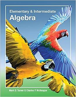 Elementary intermediate algebra with access code turner elementary intermediate algebra with access code turnermckeague 9781630980658 amazon books fandeluxe Choice Image